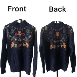 Zara Knit | Double Side Design | Size-Medium